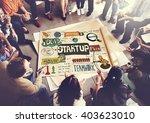 start up strategy creative...   Shutterstock . vector #403623010