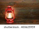 Lantern Kerosene Oil Lamp  On...