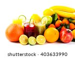 harvest juicy fruit and berries | Shutterstock . vector #403633990