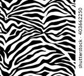 seamless zebra pattern. zebra... | Shutterstock .eps vector #403662250
