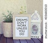 inspirational motivational... | Shutterstock . vector #403683010