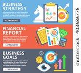 business strategy  financial... | Shutterstock . vector #403686778