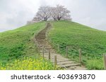 A Hiking Trail Going Up To The...