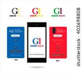 company logo in mobile...