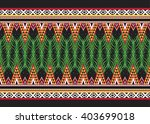 geometric ethnic oriental... | Shutterstock .eps vector #403699018