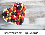 Healthy Fresh Fruit Salad With...