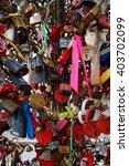 love padlocks colorful | Shutterstock . vector #403702099