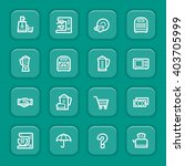 kitchen appliances web icons | Shutterstock .eps vector #403705999
