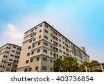 condominium building on sky... | Shutterstock . vector #403736854
