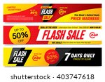 flash sale banners template... | Shutterstock .eps vector #403747618
