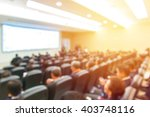 blur of business conference and ... | Shutterstock . vector #403748116