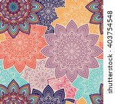 seamless pattern. vintage... | Shutterstock .eps vector #403754548