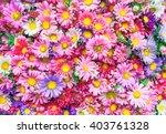 Stock photo bright flowers background 403761328