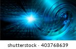 blue abstract hi speed internet ... | Shutterstock . vector #403768639