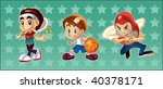 sport character | Shutterstock .eps vector #40378171