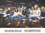 student study classmate... | Shutterstock . vector #403809430