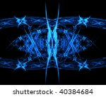 abstract blue background | Shutterstock . vector #40384684