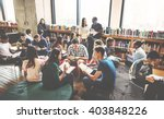 classmate classroom sharing... | Shutterstock . vector #403848226