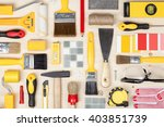 decorating and house renovation ... | Shutterstock . vector #403851739