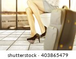 background of airport and... | Shutterstock . vector #403865479