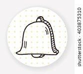 bell doodle | Shutterstock .eps vector #403875310