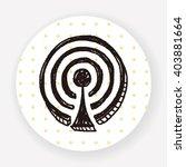 doodle wifi | Shutterstock .eps vector #403881664