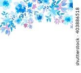 invitation card for wedding... | Shutterstock . vector #403886518
