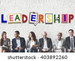 leader leadership skill... | Shutterstock . vector #403892260