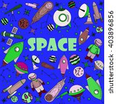 space line art design vector... | Shutterstock .eps vector #403896856