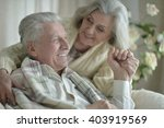happy senior couple | Shutterstock . vector #403919569