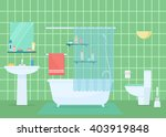 bathroom vector illustration....