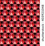 hexagonal texture. low poly red ... | Shutterstock .eps vector #403921048