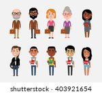 character illustrations... | Shutterstock .eps vector #403921654