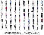 set of trendy and business... | Shutterstock . vector #403922314