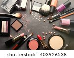 Frame Of Decorative Cosmetics...