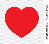 heart icon illustration design | Shutterstock .eps vector #403935928