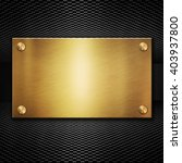black background with golden... | Shutterstock . vector #403937800