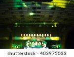 blurred lighting equipment at... | Shutterstock . vector #403975033