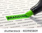 Branding Message Highlighted...