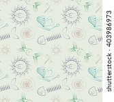 seamless abstract vector... | Shutterstock .eps vector #403986973