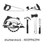 vector elements for carpentry... | Shutterstock .eps vector #403996294