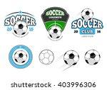 european football  soccer... | Shutterstock .eps vector #403996306