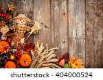 Colorful Autumn Background Wit...
