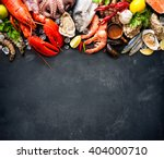 Shellfish plate of crustacean...