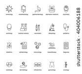 set of icons for different... | Shutterstock .eps vector #404006188