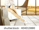 white legs woman shoes and... | Shutterstock . vector #404013880