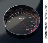 carbon fiber speed indicator... | Shutterstock . vector #404018704