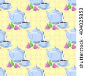 seamless pattern with objects... | Shutterstock . vector #404025853