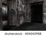Abandoned Building Place With...