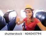 travel and technology. young... | Shutterstock . vector #404045794